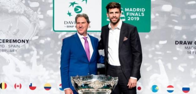 """""""Había que renovar la Copa Davis, con o sin Piqué"""". Foto: Getty"""