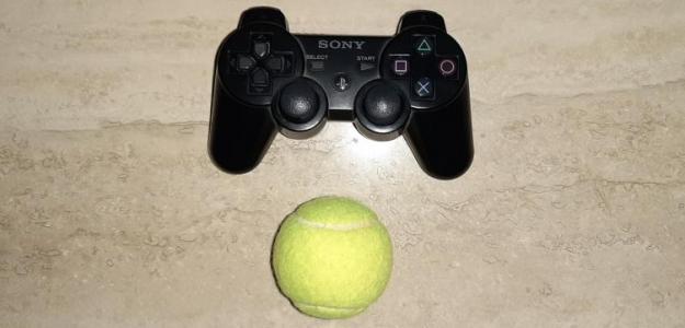 Tenis y videojuegos, dos buenos amigos. Fuente: PDB