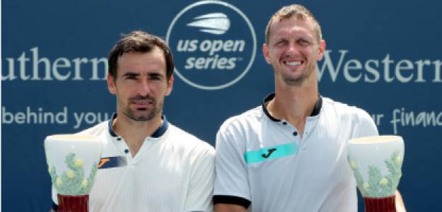 Ivan Dodig y Filip Polasek, campeones en Cincinnati. Fuente: Getty