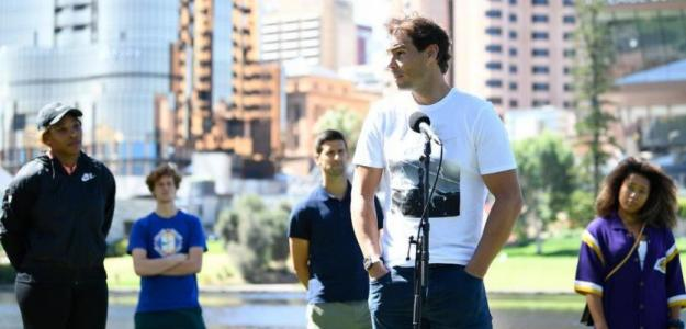 Posibilidad de no jugarse Open de Australia 2021. Foto: gettyimages