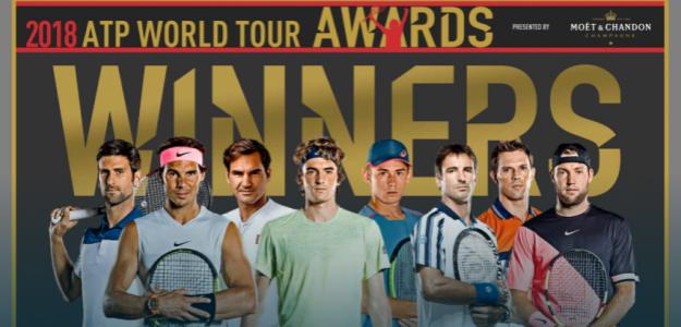 Premiados ATP Awards 2018. Foto: ATP