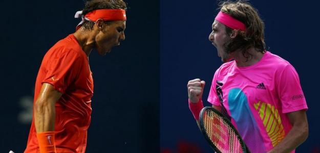 Doce años de diferencia entre Nadal y Tsitsipas. Fuente: Tennis.com