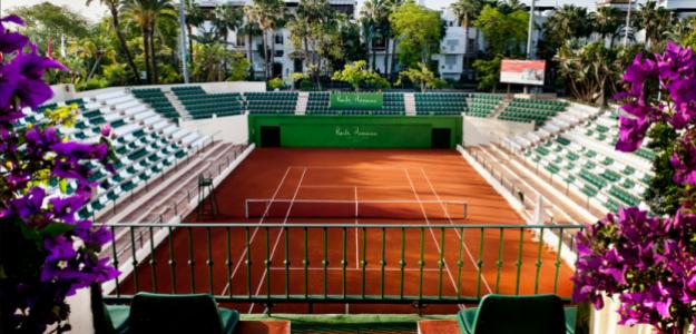 Club de Tenis Puente Romano. Fuente: Getty