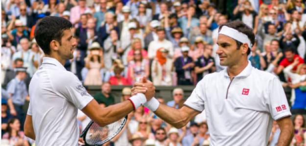 Novak Djokovic y Roger Federer, beneficiados por el nuevo ranking. Fuente: Getty