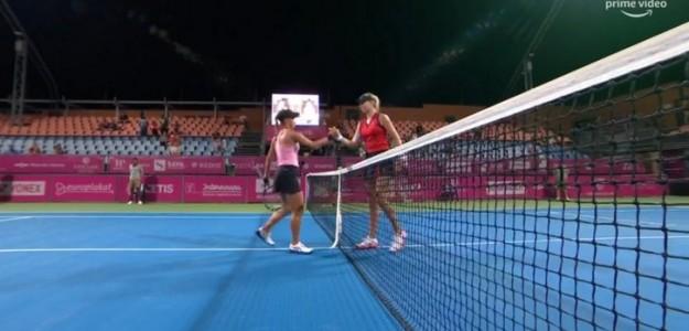 Putintseva en el Open de Australia Junior 2012. Fuente: lainformacion.com