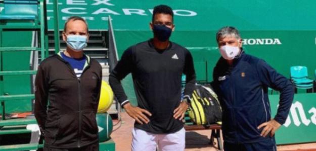Toni Nadal se sumó al equipo de trabajo de Aliassime. Foto: @felixtennis
