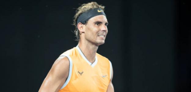 Rafa Nadal y su éxito en Australia 2019. Foto: Getty