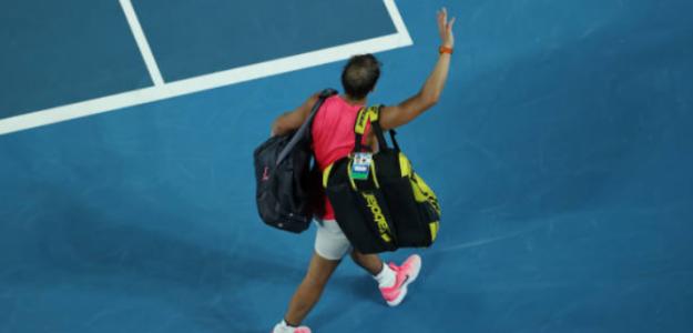 "Rafa Nadal: ""No me he rendido en ningún momento"". Foto: Getty"