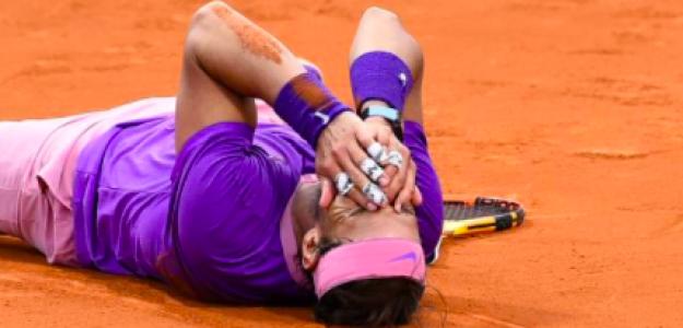 Rafa Nadal celebrando su duodécimo título en Barcelona. Fuente: Getty