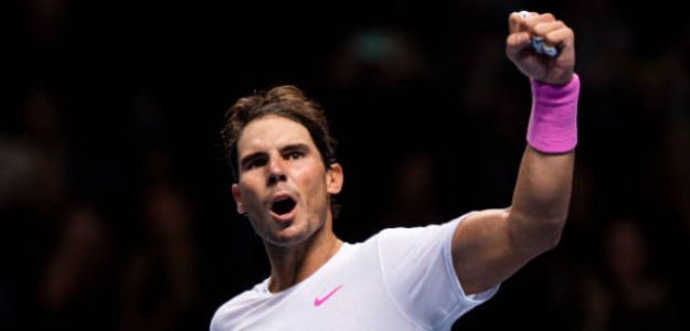 Y el mejor tenista del año 2019 es... Rafa Nadal. Foto: Getty