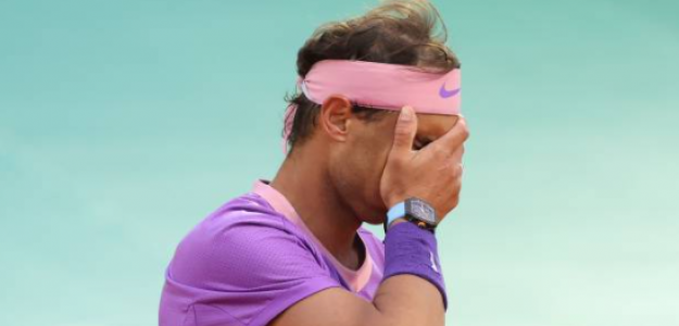 Rafa Nadal pierde en QF de Montecarlo ante Rublev. Foto: Getty