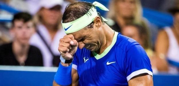 """Rafa Nadal se baja de lo que queda de temporada: """"Necesito descansar"""". Foto: Getty"""
