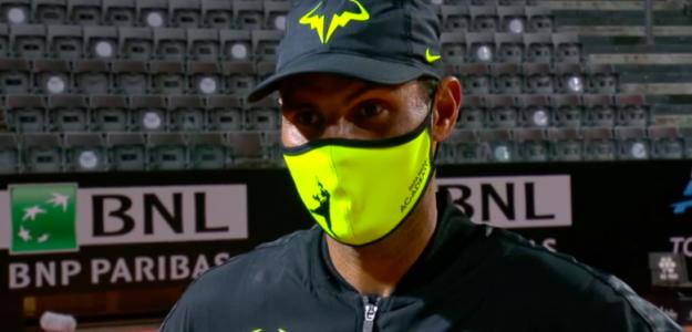 Rafael Nadal tras vencer a Pablo Carreño. Fuente: TennisTV