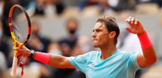 """Nadal: """"Solo he jugado cinco partidos en seis meses y los regresos no son fáciles"""". Fuente: Getty"""