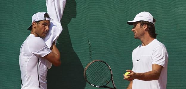 Rafael Nadal y Carlos Moyà