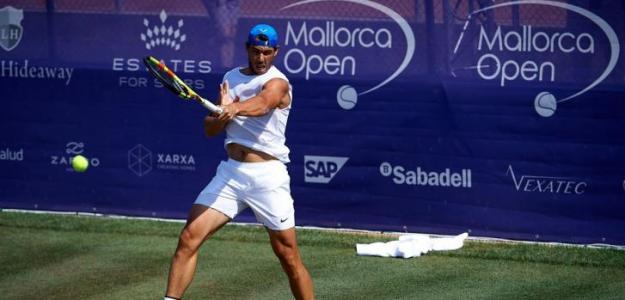 Rafael Nadal. Foto: Mallorca Open