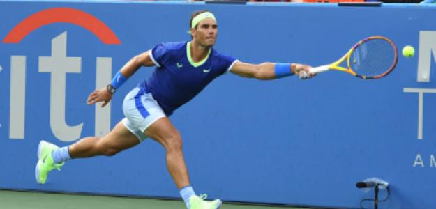Rafael Nadal, el Big 3 amenazado en US Open 2021. Foto: gettyimages