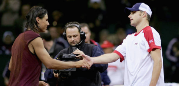 Andy Roddick habla de Rafael Nadal. Foto: gettyimages