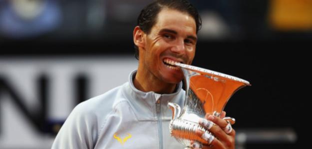 Rafael Nadal en Roma 2019. Foto: zimbio
