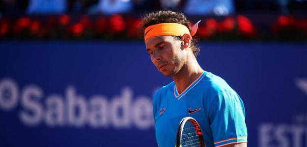 Rafael Nadal pierde puntos en el Conde de Godó. Foto: zimbio