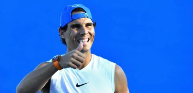Rafael Nadal debuta en ATP 250 Brisbane 2019. Foto: zimbio