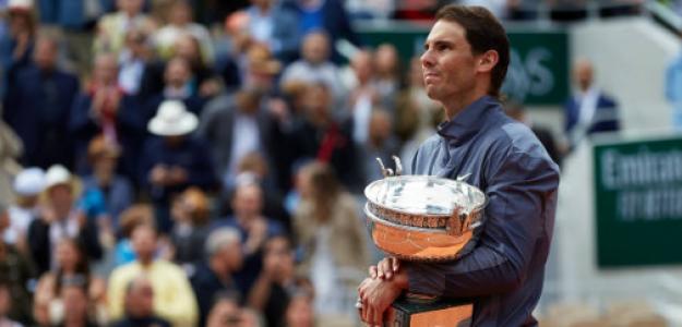 Rafael Nadal en Roland Garros 2019. Foto: gettyimages