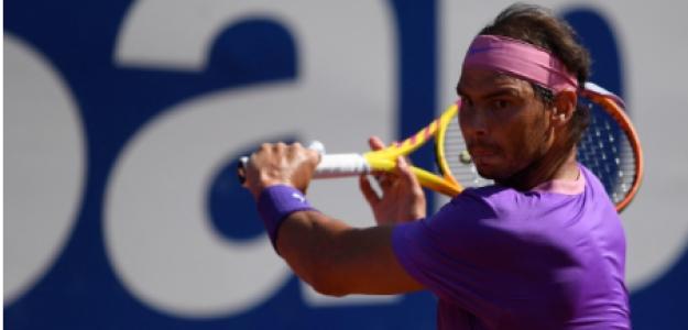 Rafael Nadal, finalista ATP 500 Conde de Godó 2021. Foto: gettyimages