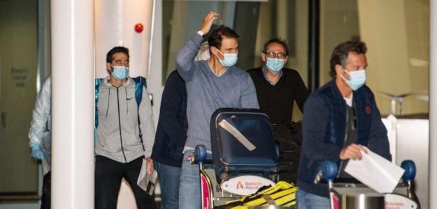 Rafael Nadal, cuarentena privilegiada en Adelaida. Foto: gettyimages