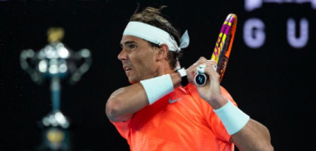 Rafael Nadal, dificultades momentos cumbre. Foto: gettyimages
