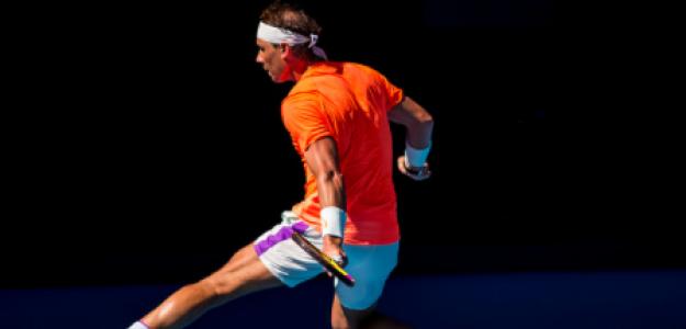 Rafael Nadal, eficacia en primera semana de Grand Slam. Foto: gettyimages