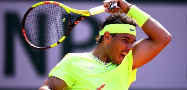 Rafa Nadal suma un 87% de victorias ante tenistas zurdos. Foto: Getty