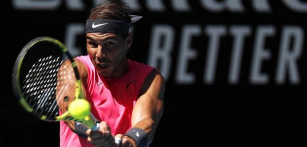 Rafael Nadal habla de sus entrenamientos. Foto: gettyimages
