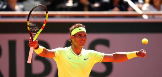 Rafael Nadal, finalista de Roland Garros 2019. Foto: gettyimages