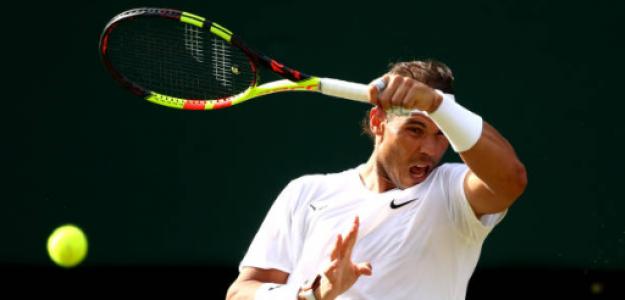 Rafael Nadal gana a Nick Kyrgios en Wimbledon 2019. Foto: gettyimages