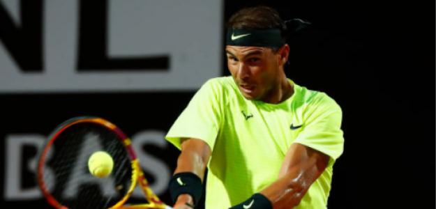 Rafael Nadal gana a Dusan Lajovic en Masters 1000 Roma 2020. Foto: gettyimages