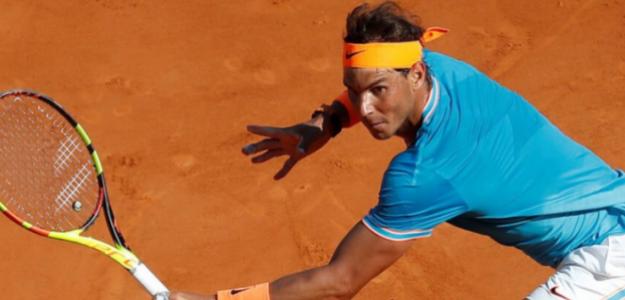 Rafael Nadal en ATP 500 Barcelona 2018. Foto: zimbio