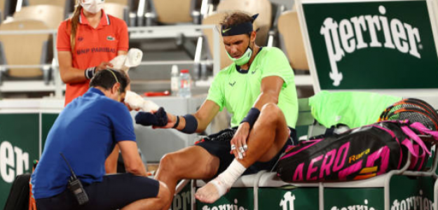 El Síndrome de Müller-Weiss, la lesión que padece Nadal. Foto: Getty