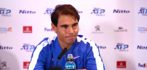 Rafael Nadal en Londres. Foto: gettyimages