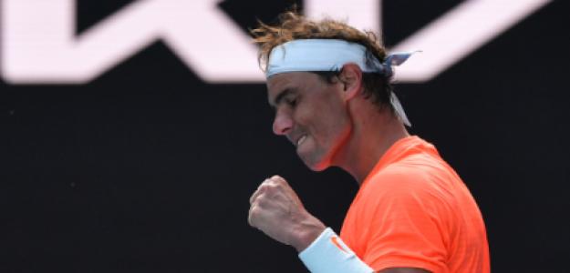 Rafael Nadal, mejora espalda y condición física. Foto: gettyimages