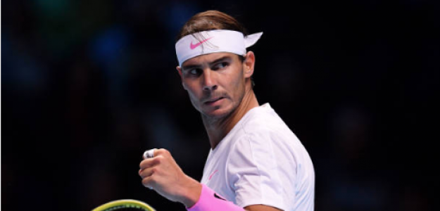 Rafael Nadal gana a Daniil Medvedev en Nitto ATP Finals 2019. Foto. gettyimages