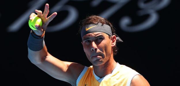 Rafael Nadal gana segunda ronda Open de Australia 2019. Foto: zimbio