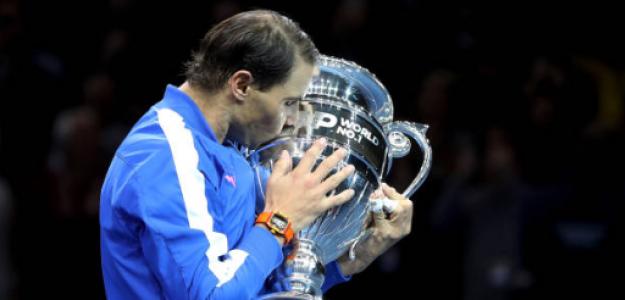 Rafael Nadal, número 1 del mundo. Foto: gettyimages