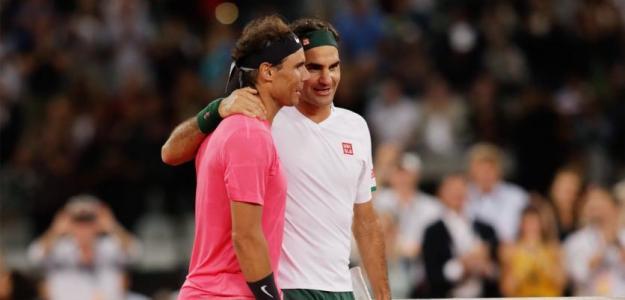 Rafael Nadal habla de su amistad con Roger Federer. Foto: gettyimages