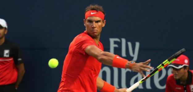 Rafael Nadal en Rogers Cup 2019. Foto: gettyimages