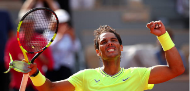 Rafael Nadal en Roland Garros 2019. Foto: zimbio
