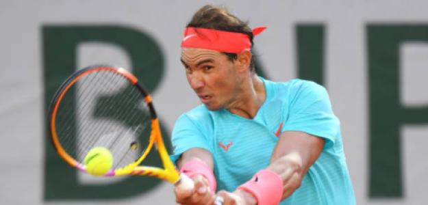 Rafael Nadal gana a Diego Schwartzman en Roland Garros 2020. Foto: gettyimages