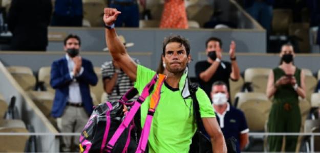 Rafael Nadal, derrota en Roland Garros 2021 con Novak Djokovic. Foto: gettyimages
