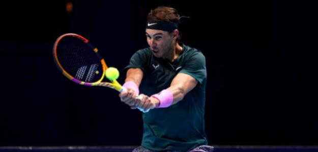 Rafael Nadal habla tras ganar a Andrey Rublev en Nitto ATP Finals 2020. Foto: gettyimages
