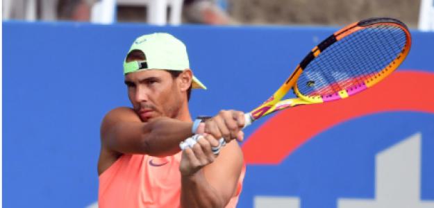 Rafael Nadal, opción ganar en Washington. Foto: gettyimages