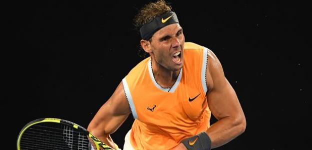 Rafael Nadal en Open de Australia 2019. Foto: zimbio